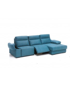 Sofá chaise longue con motores